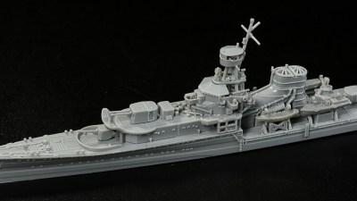 建造時に世界を驚かせた大日本帝国海軍のひとりっ子「夕張」をピットロードの最新プラモで楽しもう!
