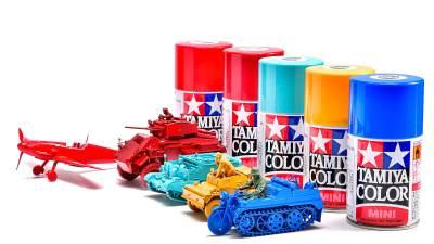 タミヤスプレーの「スペシャルカラー1色塗り」が導く塗装の世界!! 色の力で遊ぼうぜ。