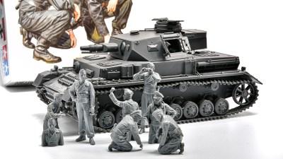 ピックアップ・タミヤMMフィギュア! 21世紀のニュースタンダードアニキ!! これぞタミヤの王道戦車兵セットだ!!!