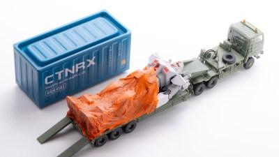 あらゆるプラモデルがロールアウト!「カミカタメール」が切り開く梱包模型の最前線。