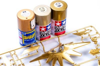 ゴールドの輝きに魅せられて。金のスプレー3色で、ボークスのKOG-ATを建立する旅路。