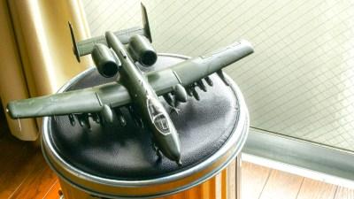ウイングスパン365mm。大きな飛行機プラモを作る楽しみ