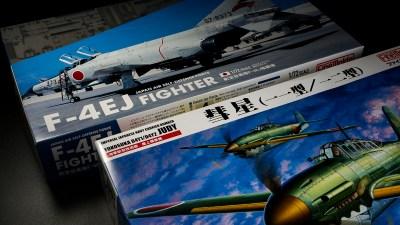 F-4 ファントムを思いながら「彗星」で味わう、ファインモールド1/48飛行機模型デビューの味わい。