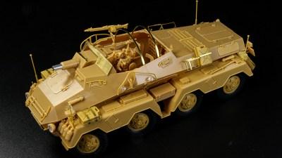 組めば組むほど実車のテクノロジーを体感できるマッシブプラモ! AFVクラブのSd.Kfz.233。