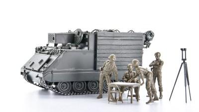 戦場のキャンピングカー!?プラモで見れば見るほど面白い「タミヤ M577コマンドポスト」。