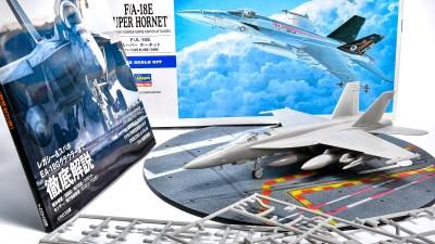 ハセガワ1/72飛行機模型ピックアップ! 21世紀スタンダード艦上戦闘攻撃機で今夜はあなたがトップガン!!