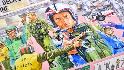 花金だ!仕事帰りに買うプラモ。箱を開ければ艦上のプラモミュージカル!!「フジミ 1/72 BUP2 消防車&デッキクルー」