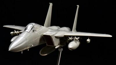 ベテランのスッピンが見てみたい!「タミヤ 1/48 航空自衛隊F-15Jイーグル」