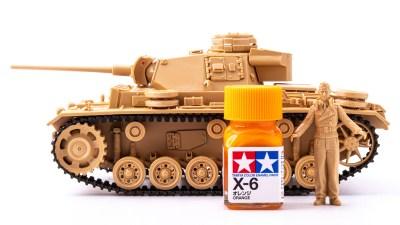 小粒なのにかなり辛い!見た目で選んだタミヤのIII号L型戦車はMGゲルググキャノンと同い年でした。