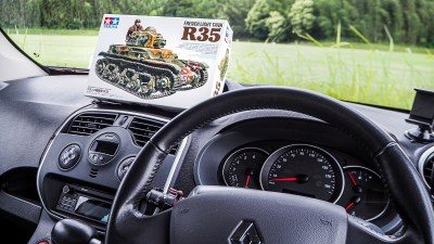 戦車プラモの中の「ルノー」に会いに行く。大好きなもの同士での感情ドライブ。