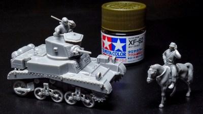 手軽に楽しむアメリカの軽戦車!/ハセガワ 1/72 M3スチュアートMk.Ⅰ