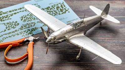 最高傑作プラモに与えられた銀メッキの栄誉/タミヤ 1/48 三式戦闘機 飛燕