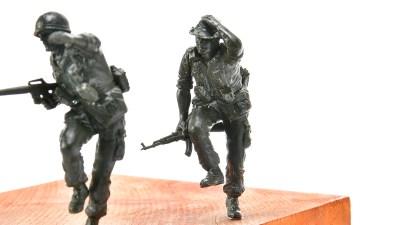 ピックアップ・タミヤMMフィギュア! ダッシュアニキ!! ベトナムを駆ける。