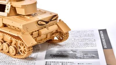 タミヤの戦車プラモに潜む製作ヒントの種/アフリカと俺 2021 「タミヤ ドイツIV号戦車G型初期生産車
