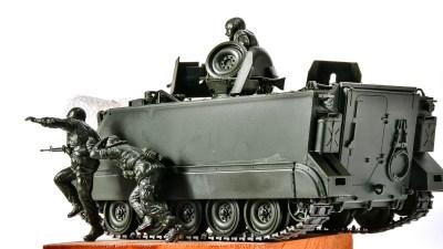 車体の中にも外にもベトナムの旨味がたっぷりなプラモ!「タミヤ 1/35 M113ACAV装甲騎兵強襲車」。