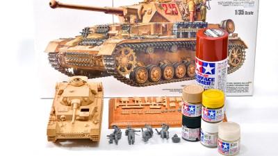 戦車プラモは「影を塗れば大丈夫!」/アフリカと俺 2021 「タミヤ ドイツIV号戦車G型初期生産車