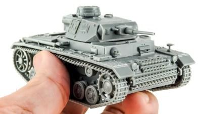 バリエーション豊富なドイツⅢ号戦車/ヤツを楽しみ尽くすプラモここにあり!