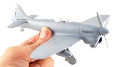 蛇の目の暴風がプラモになってやってきた!/イギリス空軍の暴れん坊、ホーカーテンペストMk.V。