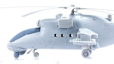 """あなたの架空戦闘メカはどこから?/仰天改造プラモ、ハセガワのMi-24 ハインド """"UAV"""""""