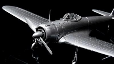 賢者の飛行機プラモを「手」で味わいます。/モデルグラフィックスマガジンキット「1/72 一式戦闘機 隼一型」