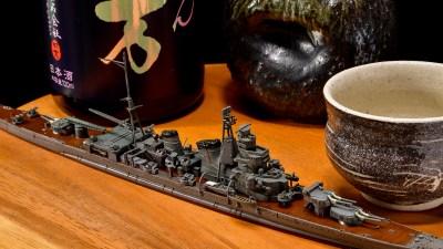 艦船プラモは「青汁」で雰囲気爆上がり!!/ウォーターライン50周年で再航海時代到来!!