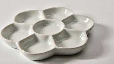 美しい模型工具「梅皿」を新調して。プラモ生活も新色に染める。
