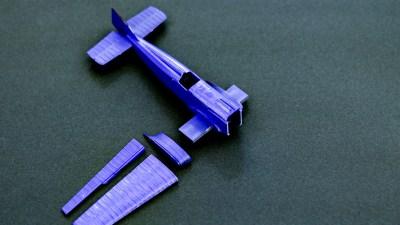 プラモのクセが俺の嗜好を引き出す。 ICM 1/72 I-1(IL-400b)