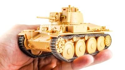 プラモデル、メーカー変われどクオリティは変わらず/ホビーボスの38(t)戦車は傑作である。