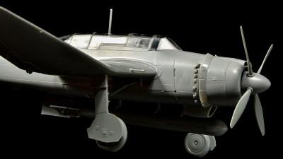 日本海軍の逆ガルアニキはまさにR.Y.U.S.E.I.の如き煌めき。ハセガワ 1/48 流星改。