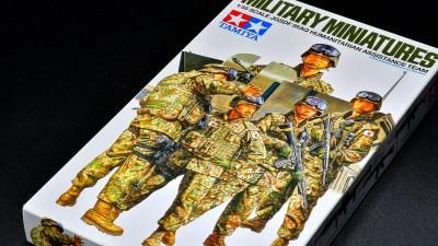 光陰矢の如し! もはやノスタルジックを感じる「陸上自衛隊イラク派遣隊員の装備」をタミヤのプラモでじっくり眺める。