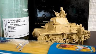 1974→2008。戦車プラモのアップデート理論をタミヤの目を借りて知ることができるプラモ「イタリア中戦車 M13/40 カーロ・アルマート」。