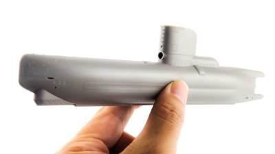 高性能な小型Uボートをお馴染みの1/144でお届けするプラモ。
